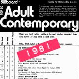Lost AC Hits of February 1981