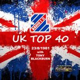 Top 40 - Tony Blackburn - 23-8-1981