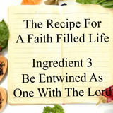 The Recipe For a Faith Filled Life: Ingredient 3 Be Entwined - Paul McMahon - 9th October 2016