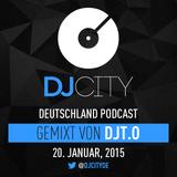 DJT.O - DJcity DE Podcast - 20/01/15