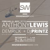 Episode 305 - Anthony Lewis & DJ Printz - February 21, 2015