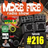 More Fire Radio Show #216 Week of April 12th 2019 with Crossfire from Unity Sound