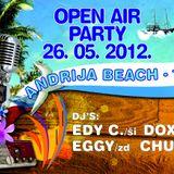 DoXa Live @ 26-05-2012 - Open Air Party Andrija Beach - Tisno - Croatia / with Edy C. / DoXa / Eggy
