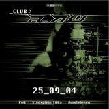 The DJ Producer vs. Hellfish @ Club r_AW (25-09-2004)