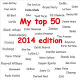 My top 50 - 2014 edition