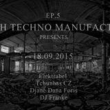 Djane Dana Foris @ Czech Techno Manufactory in Cema Cema 18.9.2015
