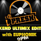 Ultimix Weekend Edition on 5FM with Euphonik 25/08/2012