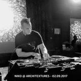 Niko @ Architextures - 02.09.2017