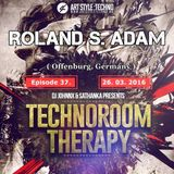 Technoroom Therapy - Roland S. Adam Set 2016