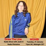 #084 Draw The Line Radio Show 21-01-2020 with guest mix 2nd hour Monibi