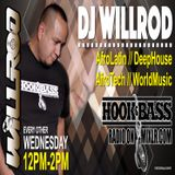 Hook&BassRadio live Wednesday from 12-2pm with DjWillRod.