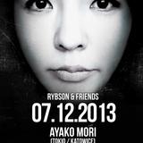 07.12.2013 Rybson & Friends pres.  Ayako Mori (Alternatywa Malbork)
