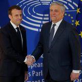 Emmanuel Macron en visite à Strasbourg - Billet d'humeur de Bernadette - Wunder Parlement avril 2018