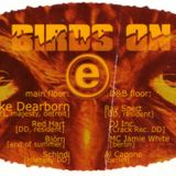 """Mike Dearborn at """"Birds On E"""" @ Flugzeugwerft (Dresden - Germany) - 17 May 1997"""