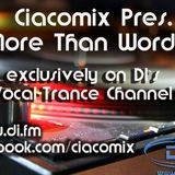 Ciacomix Pres. More Than Words 7 (Best of 2nd half 2014 - 24th March 2015) @DI.FM