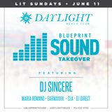 Dj Sincere Hip Hop Mix for the Blueprint Sound Takeover at Daylight Beach Club 6/11/17