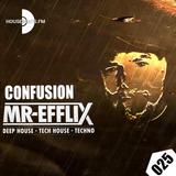 CONFUSION 025 - Deephouse - Techhouse - Techno live mix
