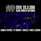 X.Morph - Live@Fabric, Ostrava, CZ - SlimSlamDrum 25/03/2016
