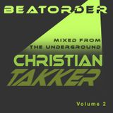 Beatorder mixed from the underground Volume 2