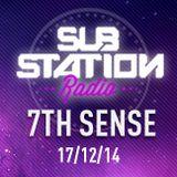 ● 7TH SENSE ● Set + entrevista en Substation Radio On Line ● DICIEMBRE 2014