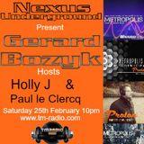 Nexus Underground February 2017 -Paul le Clercq