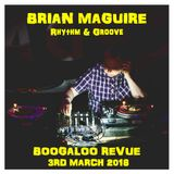 Brian Maguire (Rhythm & Groove) at Boogaloo Review
