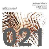 #whv020   27-04-2014   Artist Focus: Chrononautz   Abdulla Rashim - Unanimity