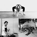 Sunset Electroyoga #2 - Matteo DC for Yoga Lab Geneva - TDR80 2017 - Île Rousseau
