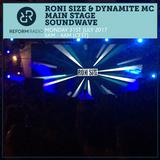 Roni Size & Dynamite MC Main Stage Soundwave 31st July 2017