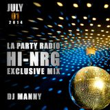 Exclusive LA Party Radio Hi-NRG Mix