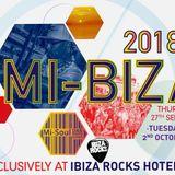 CJcooper Mi ibiza 27.09 live set Ibiza rocks hotel - DOWNTEMPO