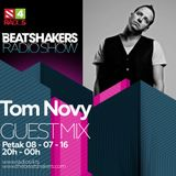 The Beatshakers Radio Show - Guest Mix by Tom Novy