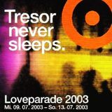 British Murder Boys @ Tresor Never Sleeps. Loveparade 2003 - Tresor Berlin - 12.07.2003