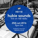 Hubie Sounds 118 - 25th Oct 2016