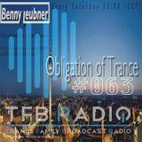 Podcast - Obligation of Trance #063