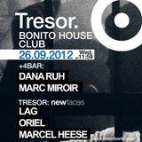 Oriel @ BHC: New Faces - Tresor Berlin - 26.09.2012