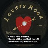 Crucial Hi-Fi presents Classic UK Lovers Rock (part 1)