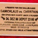 Manuell & Sebastian Gill @ Styroweihnachten (Hidden Floor)  -  24-12-2013