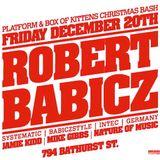 Mike Gibbs vs. Jamie Kidd at Box of Kittens & Platform xmas bash - December 20, 2013