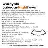 Warayaki Saturday Night Fever Oct.2018