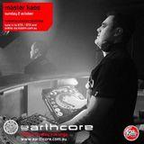 earthcast #135 - earthcore show on kiss fm 2/10/16 (master kaos & baxsta)