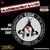 CSIA // Comité de Soutien avec les Indiens des Amériques (interview radiophonique - 03 oct. 2007)