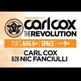 Nic Fanciulli b2b Carl Cox - Live @ Space Ibiza (Spain) 2013.08.06.