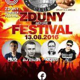 MILAS @ ZDUNY SUMMER FESTIVAL BEFORE PARTY @ BROWAR CLUB KROTOSZYN