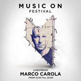 Marco Carola – Live @ Music On Festival 2019 [Amsterdam] 12.05.19