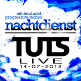 Tracks Up The Sleeve Live Closing Set @ Nachtdienst 14-07-2012