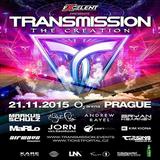 Transmission  – Driftmoon, Kim Kiona, Eller van Buuren and Koen Herfst Live (Prague) 11-21-2015
