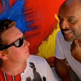 AJOIA - Live performance in San Rafael, Ibiza, July 2015 - Shovell and Anthony Gorry