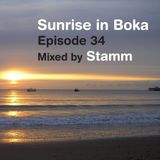 Sunrise in Boka EP. 34 Mixed by Stamm