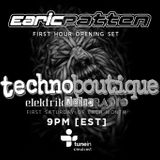 Elektrik Metro Radio's #technoboutique First Hour Opening Set